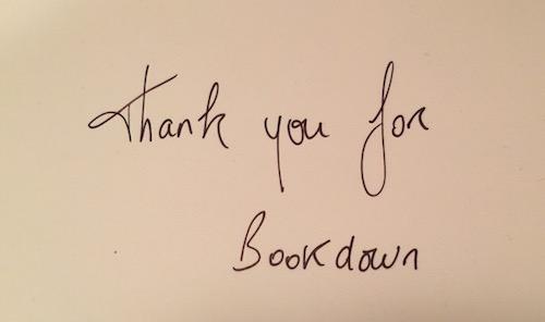 bookdown gift