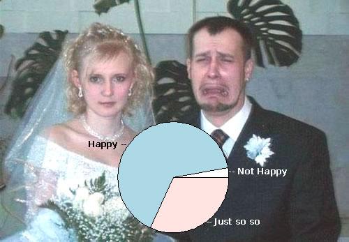 婚姻幸福比例